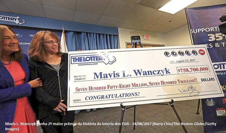 Americana ganha o equivalente a R$ 2,3 bilhões na loteria