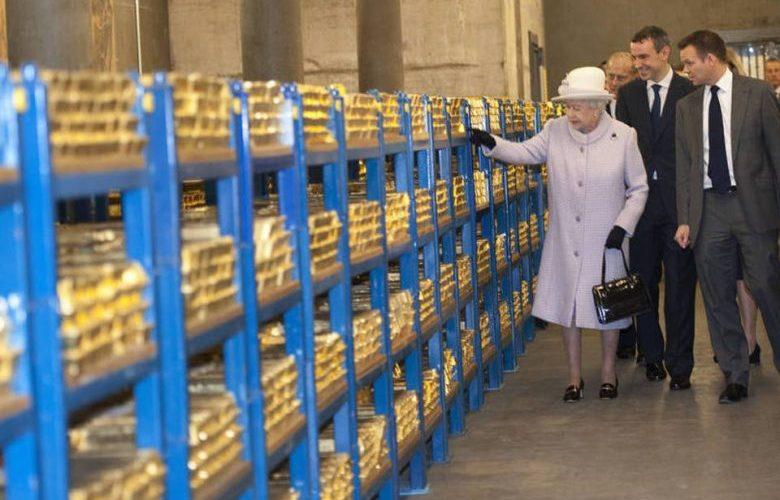 300 bilhões de dólares em ouro estão embaixo de Londres