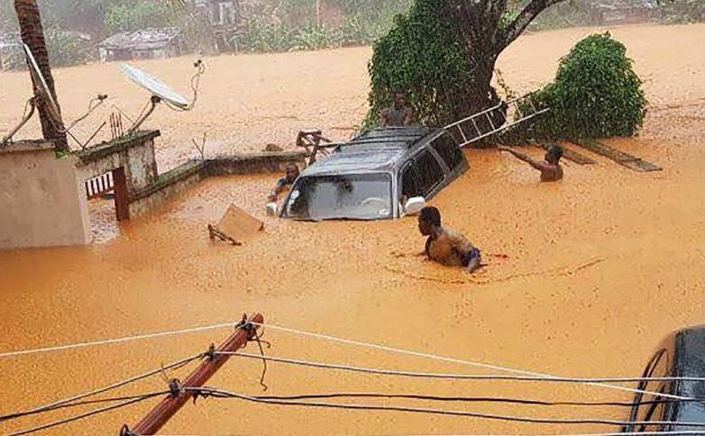 Em Serra Leoa, 312 pessoas morrem em deslizamento de terra