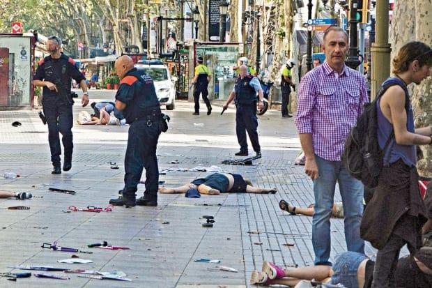 Ao menos 34 nacionalidades entre vítimas de atentado na Espanha