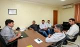 Deputado Cleiton Roque recebe prefeito e vereadores de Parecis