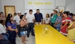Cleiton Roque garante recurso para construção de sede para idosos