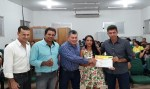 Edson Martins participa da entrega de certificados de cursos em Alto Alegre do Parecis