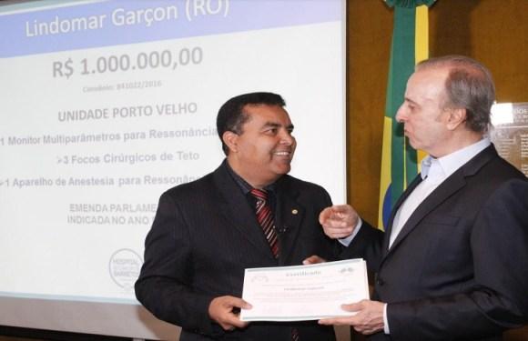 Presidente Temer estará na inauguração e credenciamento do Hospital de Câncer em Porto Velho, anuncia Lindomar Garçon