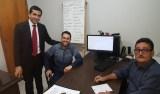 Marcio Oliveira vai a Emdur acompanhar suas reivindicações de iluminação pública