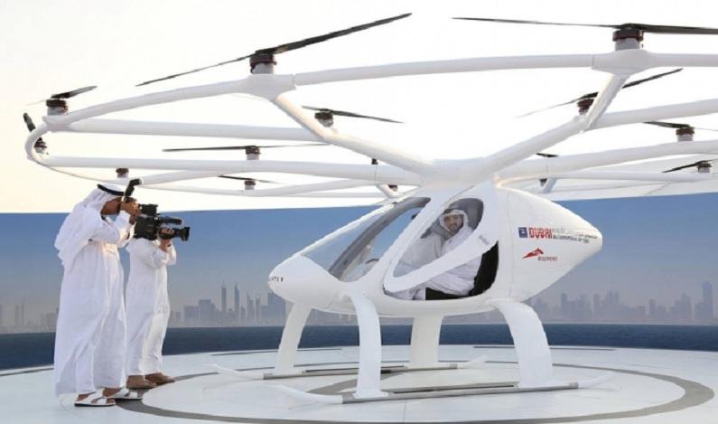 Dubai faz testes para ser primeira cidade com táxis voadores