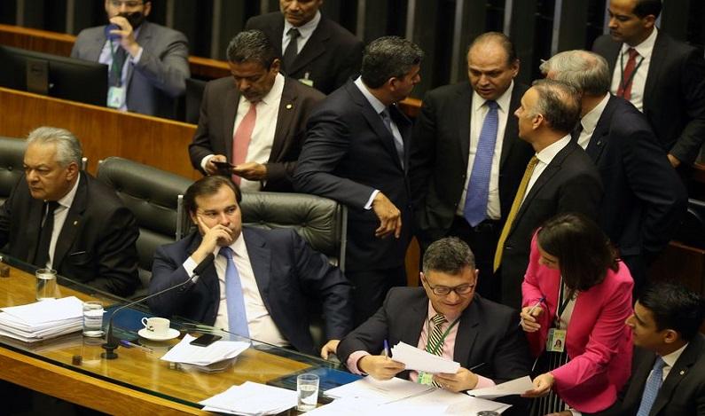 Ao vivo: plenário da Câmara vota denúncia contra Temer e ministros