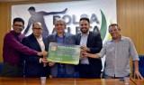 Relator do Projeto, deputado Léo Moraes participa do lançamento do Programa Bolsa Atleta
