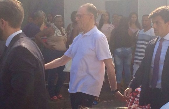 Carlos Arthur Nuzman deixa cadeia pública em Benfica, na Zona Norte do Rio