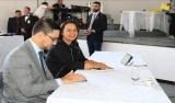 Rosangela Donadon participa de sessão extraordinária itinerante em Pimenta Bueno
