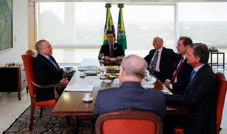 Acre e Rondônia pedem apoio de Temer para enfrentar narcotráfico