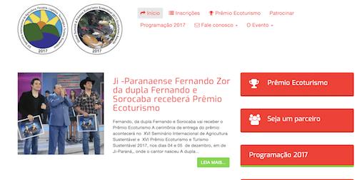 """Governo de RO quer gastar R$ 500 mil no prêmio """"Ecoturismo"""""""
