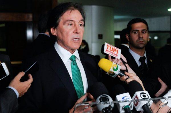Eunício anuncia acordo com o governo em torno do projeto que zera PIS/Cofins sobre o óleo diesel