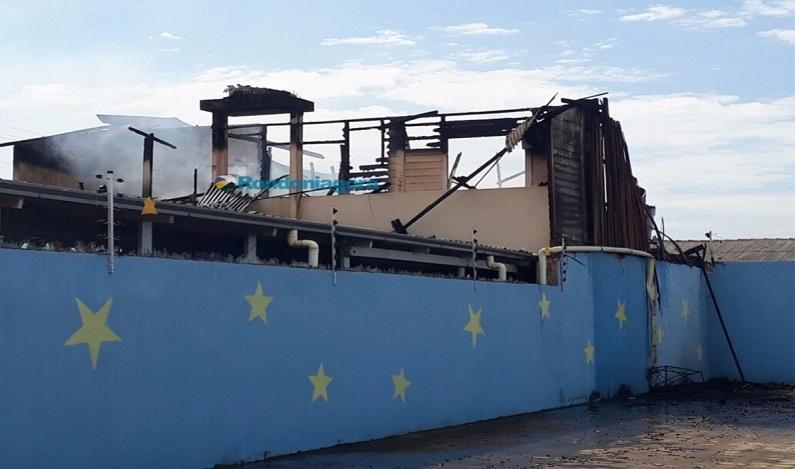 Casa na região central de Porto Velho pega fogo e cachorro morre carbonizado