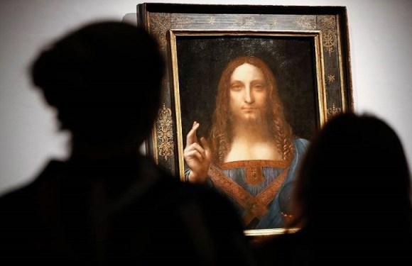 Tela de Leonardo da Vinci é vendida por R$ 1,5 bilhão, novo recorde em leilões de arte