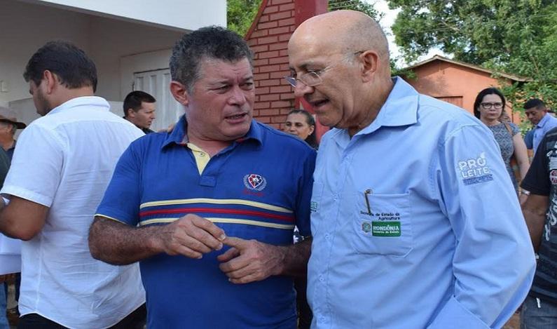 Edson Martins acompanha visita do governador ao município de Mirante da Serra