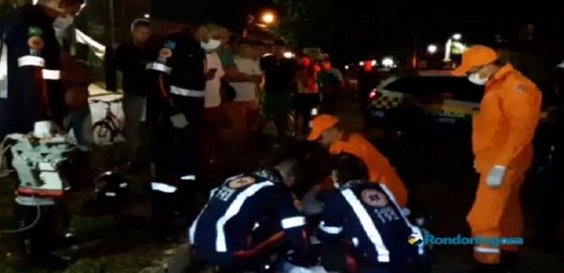 Jovem morre após perder controle de moto e bater contra árvore em Porto Velho