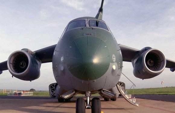 Embraer registra incidente em teste de avião militar no interior de SP