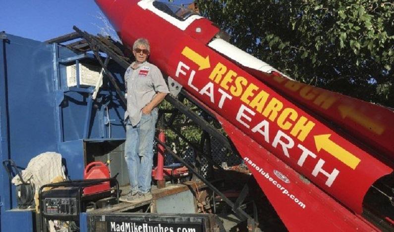 Americano vai se lançar em foguete para provar que a Terra é plana