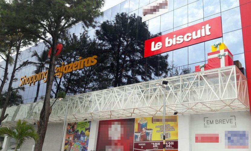 Na madrugada, grupo rende seguranças e saqueia lojas em shopping na Bahia