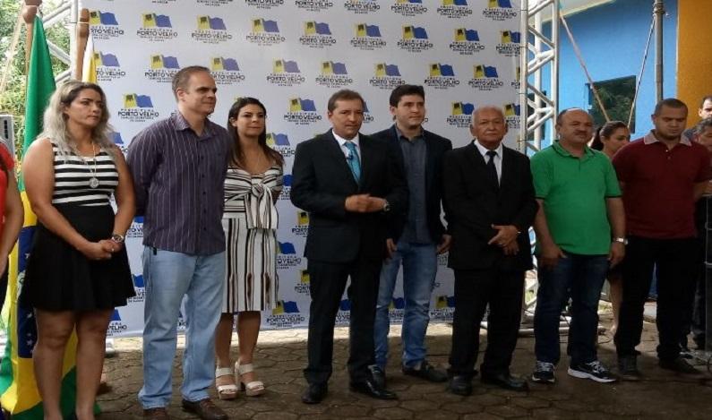 Vereador Alan Queiroz participa de inauguração de unidade de saúde