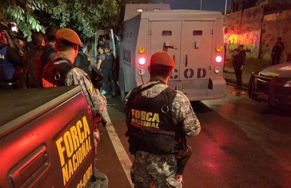 Agentes da Força Nacional sofrem tentativa de assalto no RN