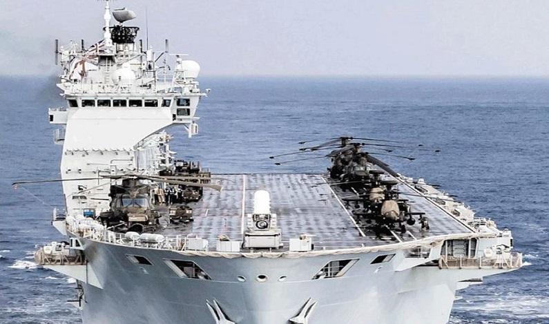 Marinha brasileira decide comprar navio de combate por R$ 350 milhões
