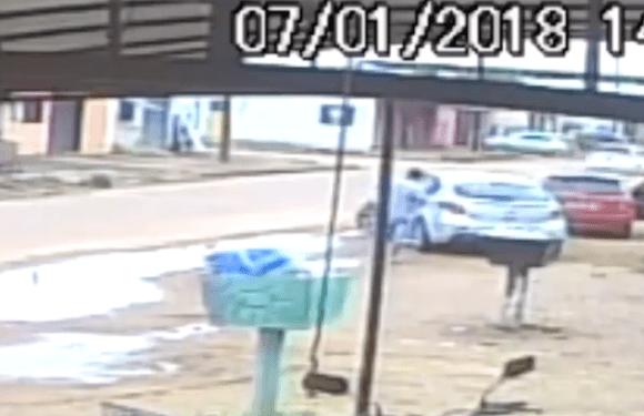 Policial Militar atira em homem após discussão em RO; Veja vídeo