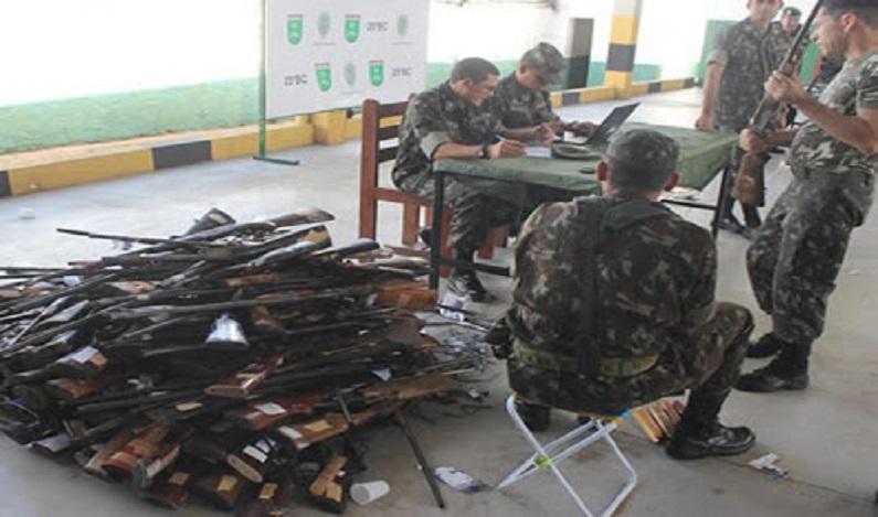 Exército investiga sumiço de munição no Ceará