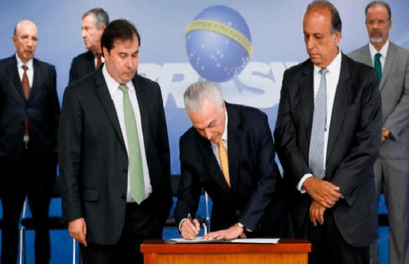 Decretada intervenção Federal no RJ; veja a íntegra do decreto
