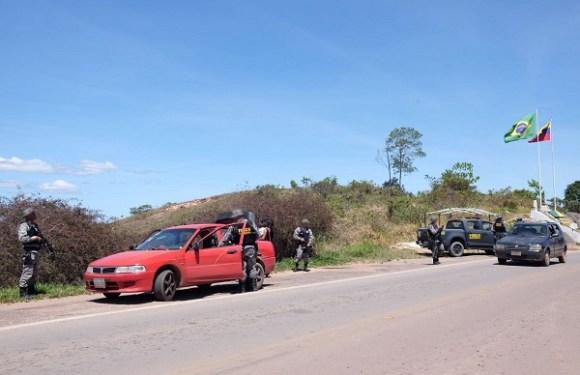 Força Nacional começa a atuar na fronteira entre Brasil e Venezuela