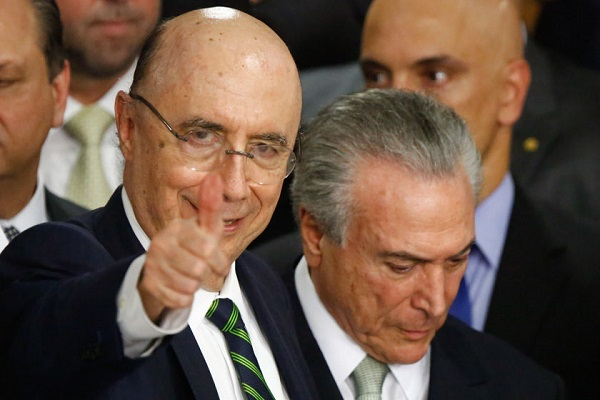 Henrique Meirelles admite disputar Presidência contra Michel Temer