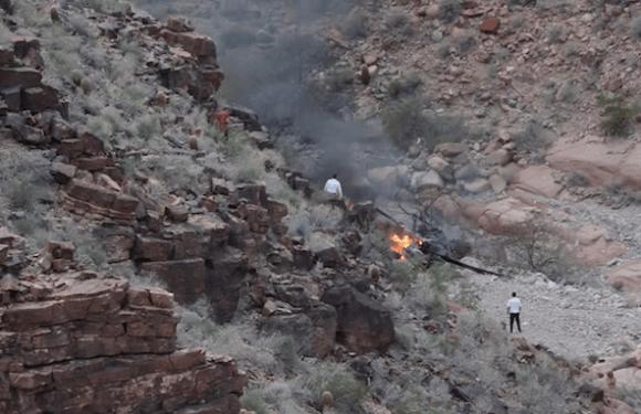 Três pessoas morrem e 4 ficam feridas em queda de helicóptero no Grand Canyon (EUA)