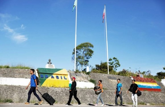 Pela 1ª vez Brasília recebe Venezuelanos vindos de Roraima