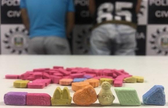 Comprimidos de ecstasy com estampa de Trump são apreendidos no RS