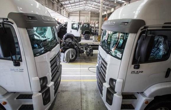 Caminhões voltam a ser financiados com entrada zero e em 60 meses