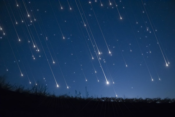 Chuva de estrelas cadentes poderá ser vista no Brasil nesta semana