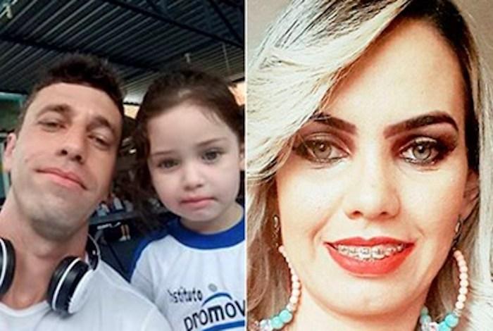 Policial militar é suspeito de assassinar a ex e fugir com a filha de 4 anos
