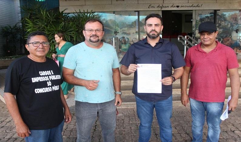 CAERD: Com a falta de água na capital e desrespeito aos servidores, Léo Moraes pede apoio ao Ministério Público