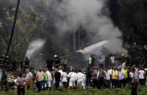 Cuba pode levar até um ano para concluir apuração de acidente aéreo