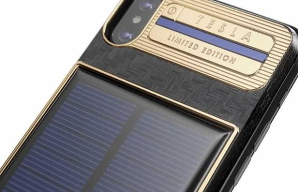 iPhone com recarga solar é vendido por R$ 16 mil