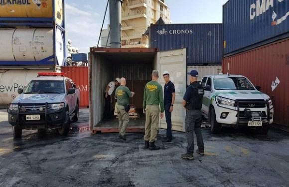 Operação apreende volume recorde de 1,7 tonelada de mercúrio que iria para a Amazônia