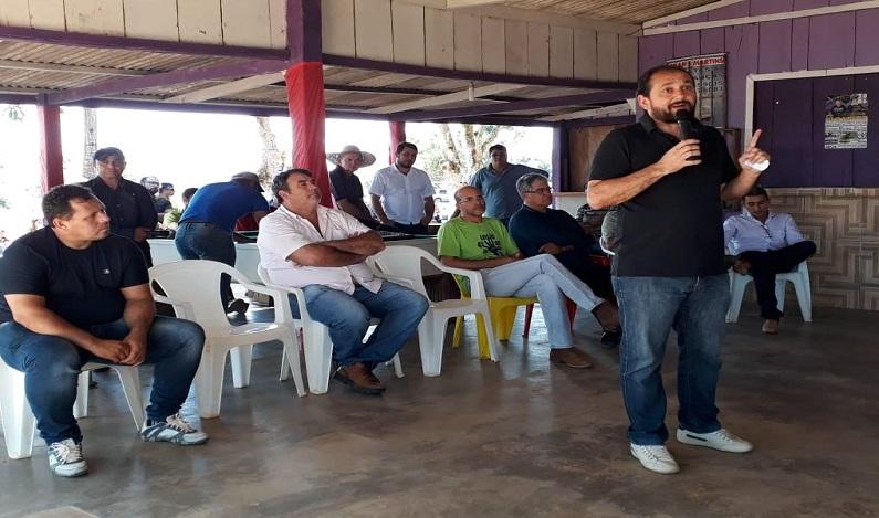 Deputado Laerte Gomes atende setor produtivo de São Miguel do Guaporé com emenda de R$ 470 mil