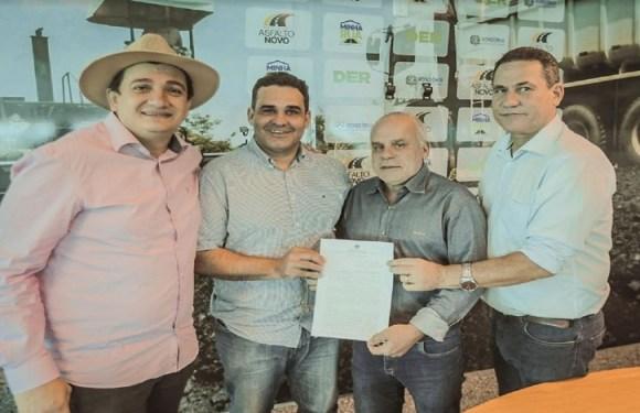Maurão de Carvalho e Cleiton Roque garantem duplicação entre Portal e Trevo na entrada de Espigão do Oeste