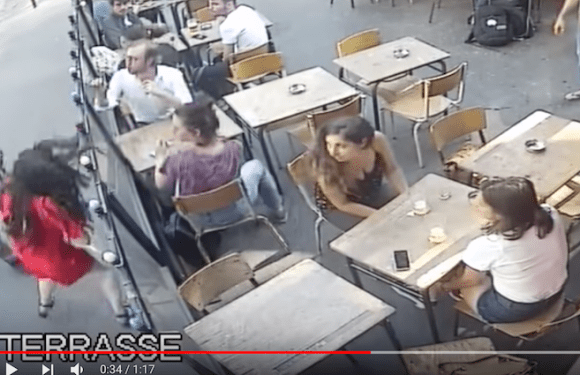 Vídeo de assediador agredindo mulher na rua choca a França; veja