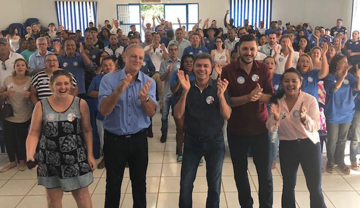 """Expedito lança campanha em Ariquemes, """"não serei um governo da mesmice"""""""