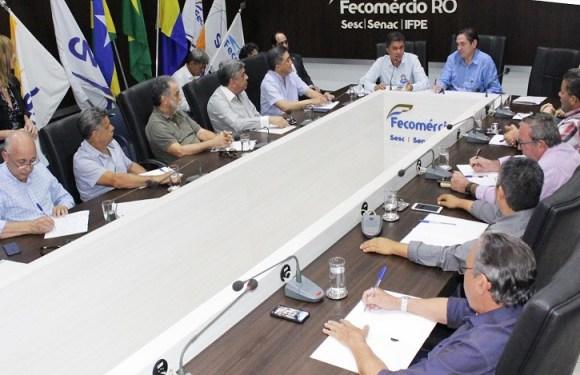 Fecomércio-RO entrega pauta sobre desenvolvimento do comércio e turismo ao candidato Expedito Júnior