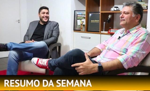 Mariana Carvalho, Marcos Rocha e Nilton Capixaba são temas do resumo da semana