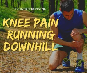 knee pain running downhill