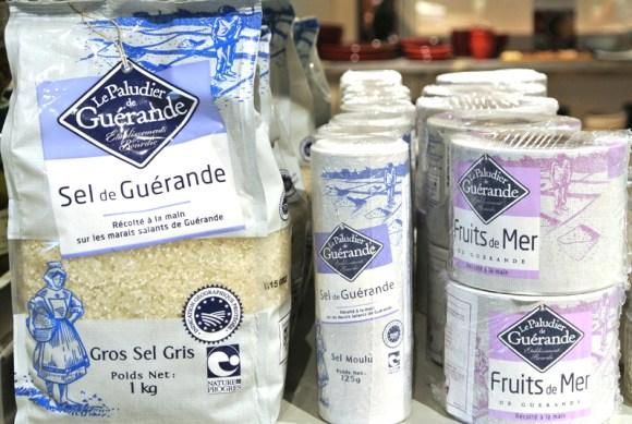 ベーカリーやパティスリーでも使用されるフランス産「ゲランドの塩」